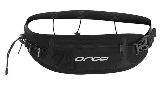 ORCA Race Belt with Zip Pocket black